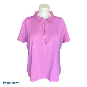 Golf Polo EUC in XL by Lija in Pink